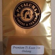 Premium Ti Kuan Yin Oolong from Petaluma Coffee & Tea