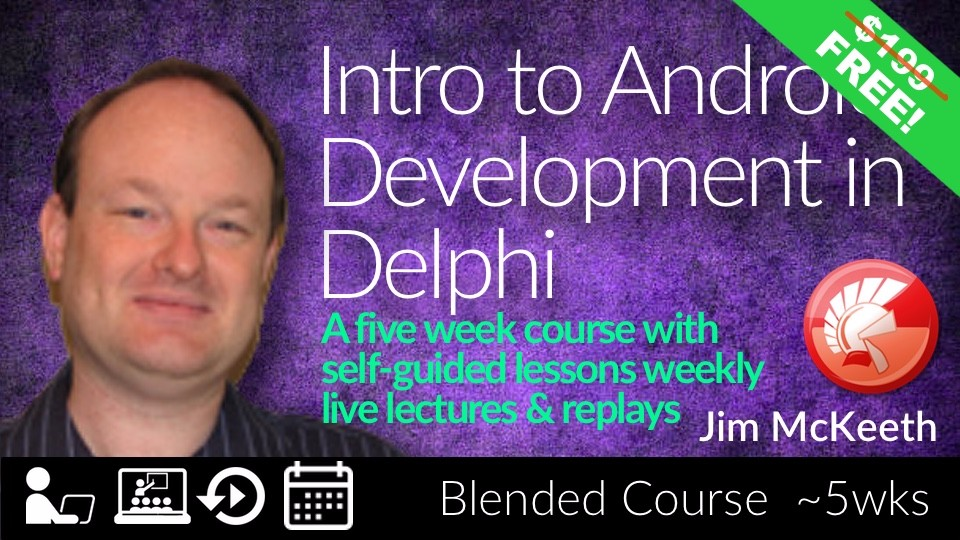 Introduction to Android Mobile Development with Delphi