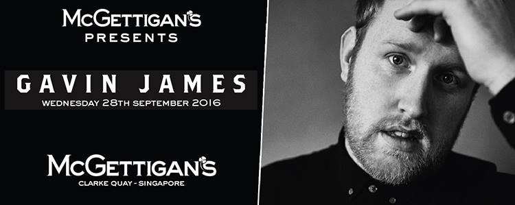 McGettigan's Clarke Quay Presents Gavin James