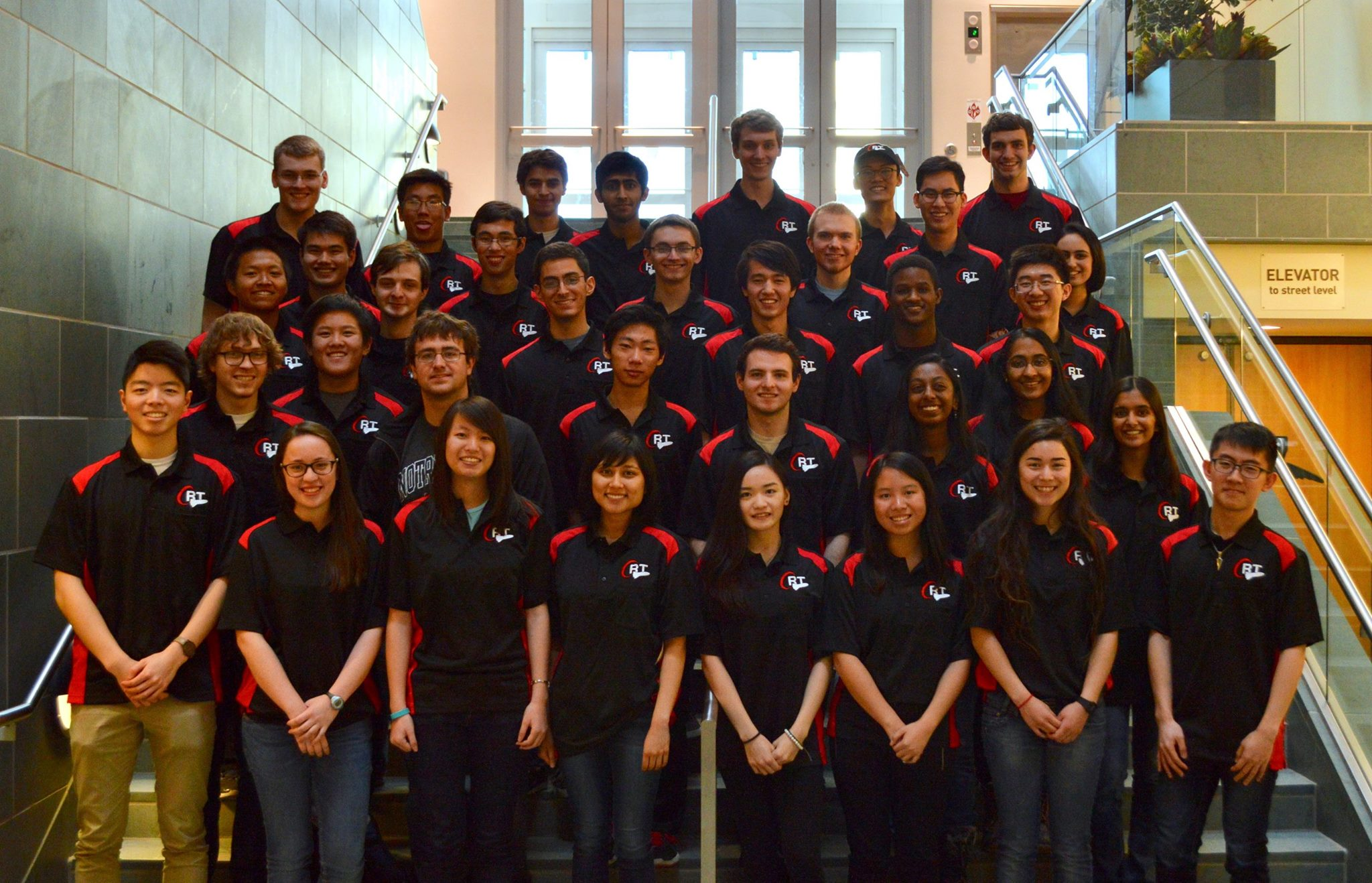 Cornell Rocketry's annual team photo.