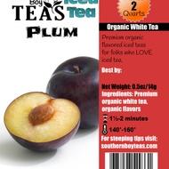 Plum White Iced Tea from Southern Boy Teas