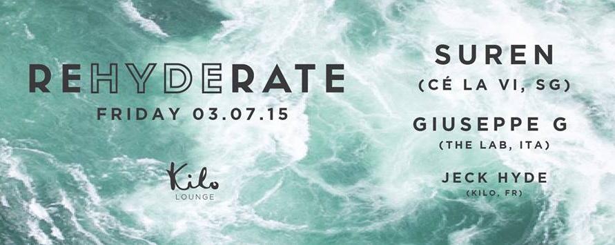 REHYDERATE ft. Giuseppe G & Suren