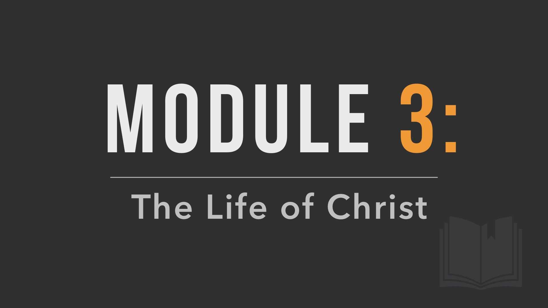 Module 3 Poster Image
