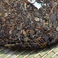 "2010 Hai Lang Hao ""Lasting Fragrance"" Yi Wu Wild Arbor from Yunnan Sourcing"