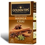 Masala Chai 25 Tea Bags By Golden Tips Tea from Golden Tips Tea