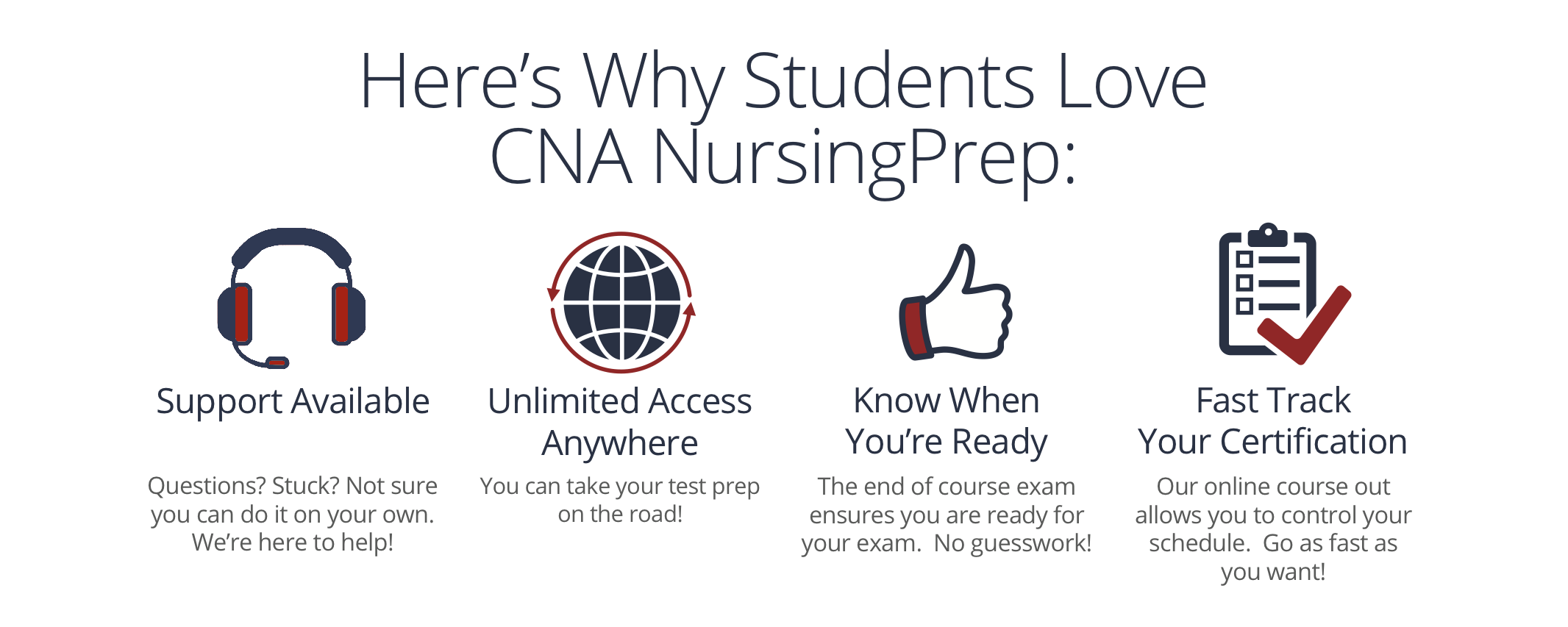 Certified nursing assistant cna nursingprep if you are unsatisfied with your purchase contact us within the first 5 days and we will give you a full refund if you complete all coursework and receive xflitez Images