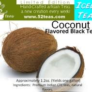 Coconut Flavored Black Tea (Iced Tea Series II) from 52teas