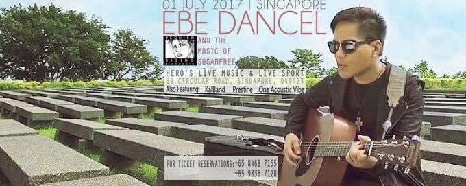 Ebe Dancel and the music of Sugarfree