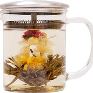 Flowering Dragon Eye Tea from Jing Tea