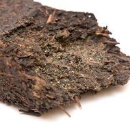 2008 organic Ji Pin Xiang Yi Fu Cha brick from Ya-Ya House of Excellent Teas