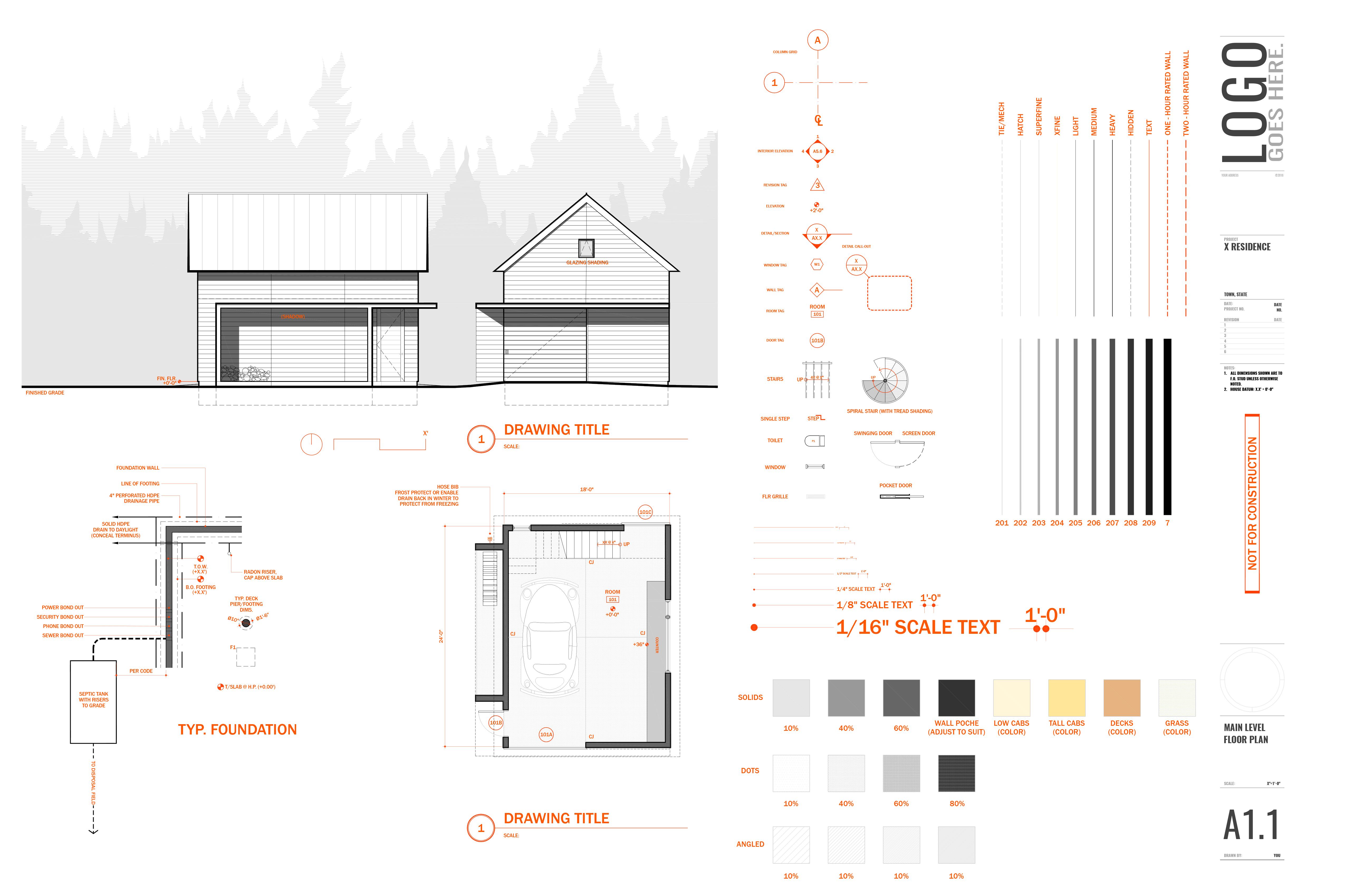 30x40 Design Workshop Autocad Template Architect Entrepreneur