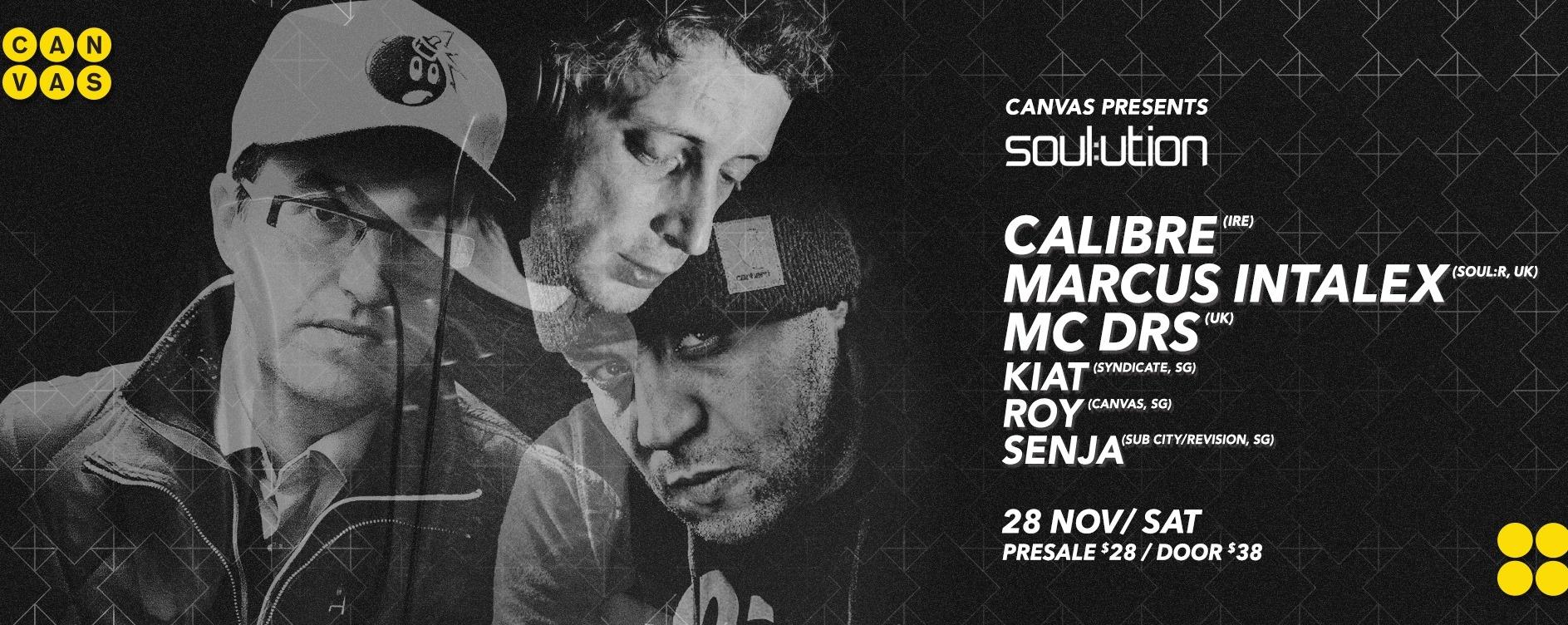 soul:ution ft. Calibre, Marcus Intalex & MC DRS
