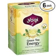 Green Tea Energy from Yogi Tea