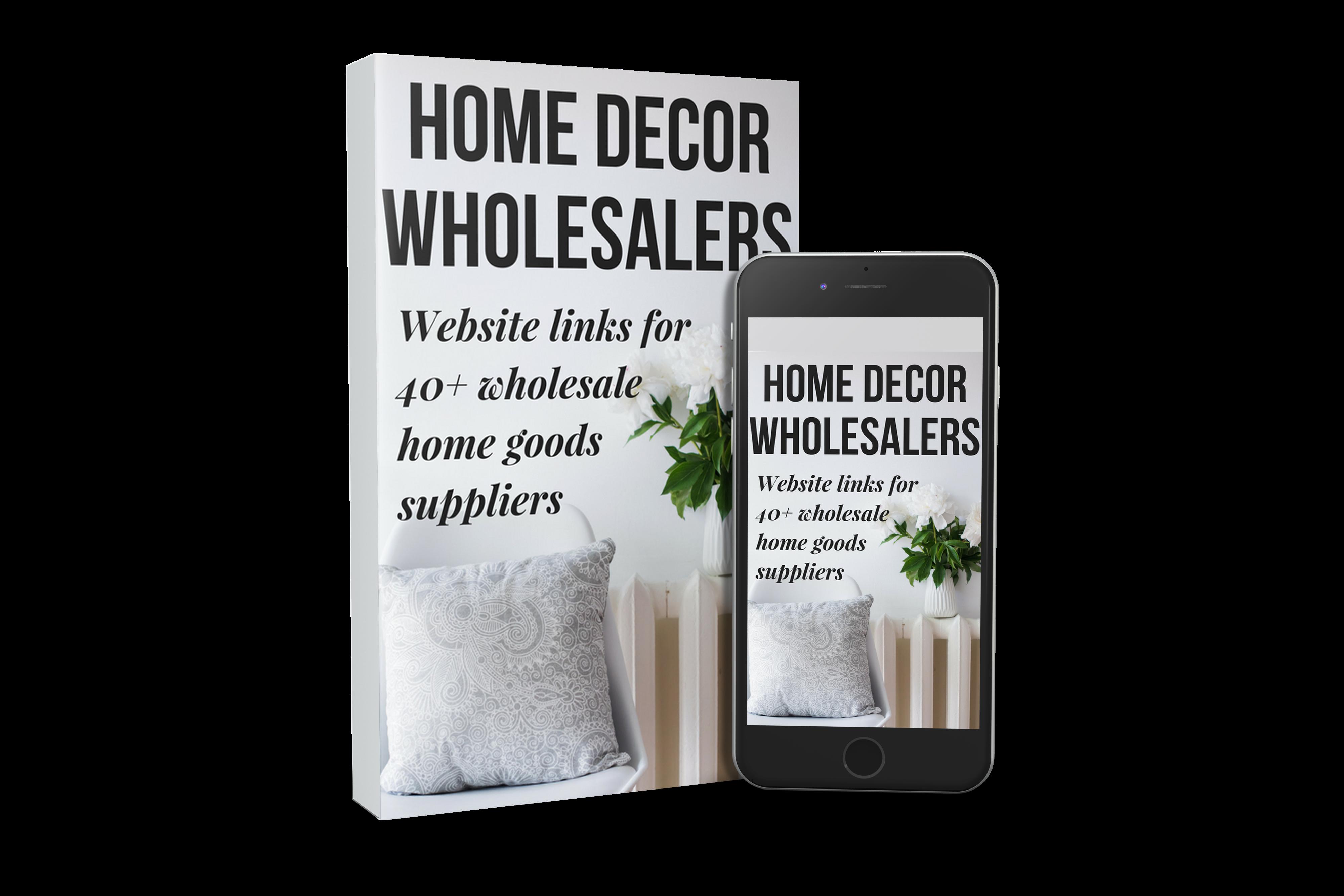 Home Decor Wholesaler List