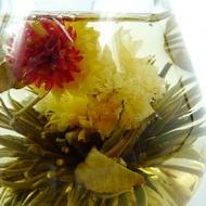 18 Blooms Handmade Blooming Flower Tea (Jasmine, Green) from Chinese Kung Fu Tea Art eBay Store