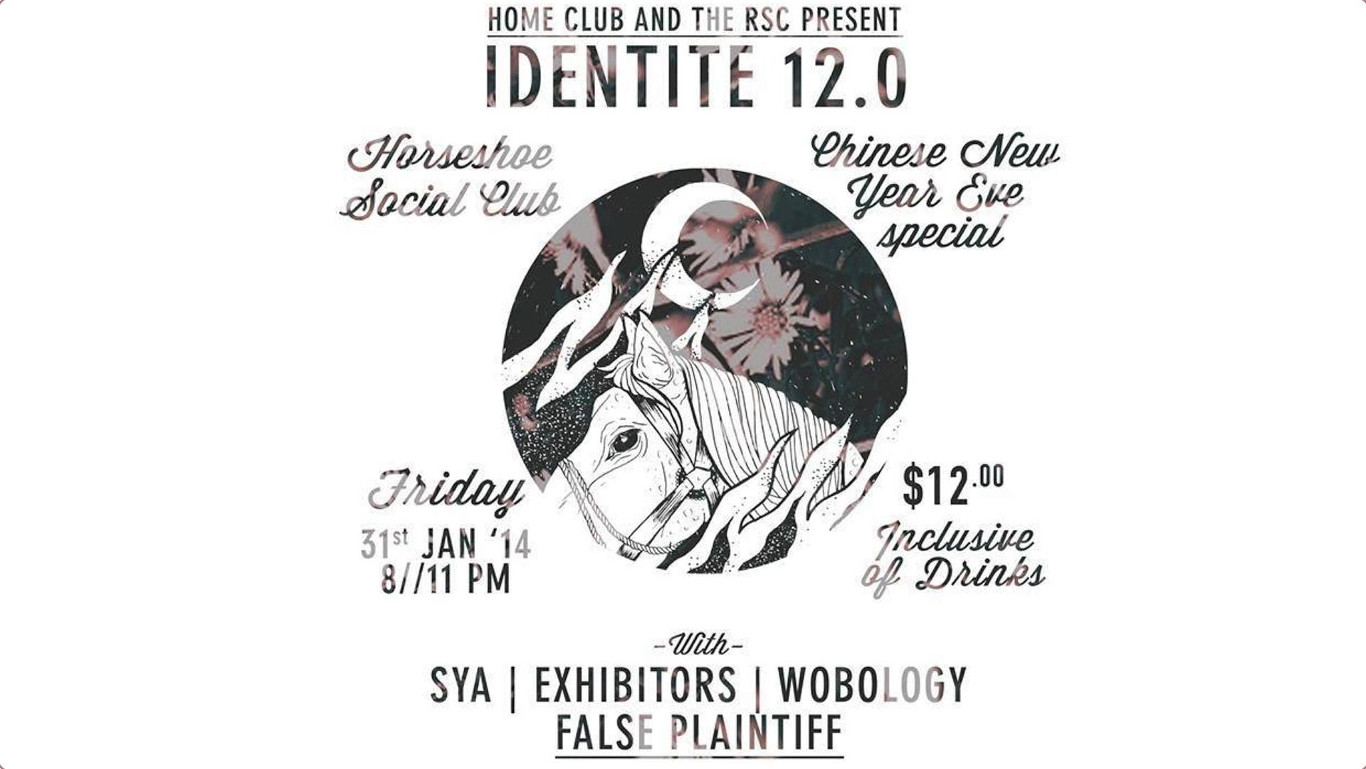 Identite: Horse Shoe Social Club