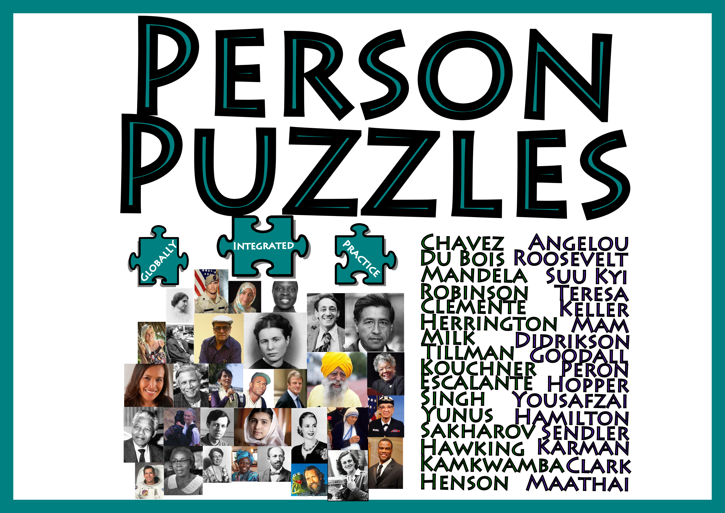Person Puzzle - 32 Algebra Warm Ups