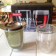 YoYo Personal Tea Set with Infuser and 12-Ounce Glass from Bodum