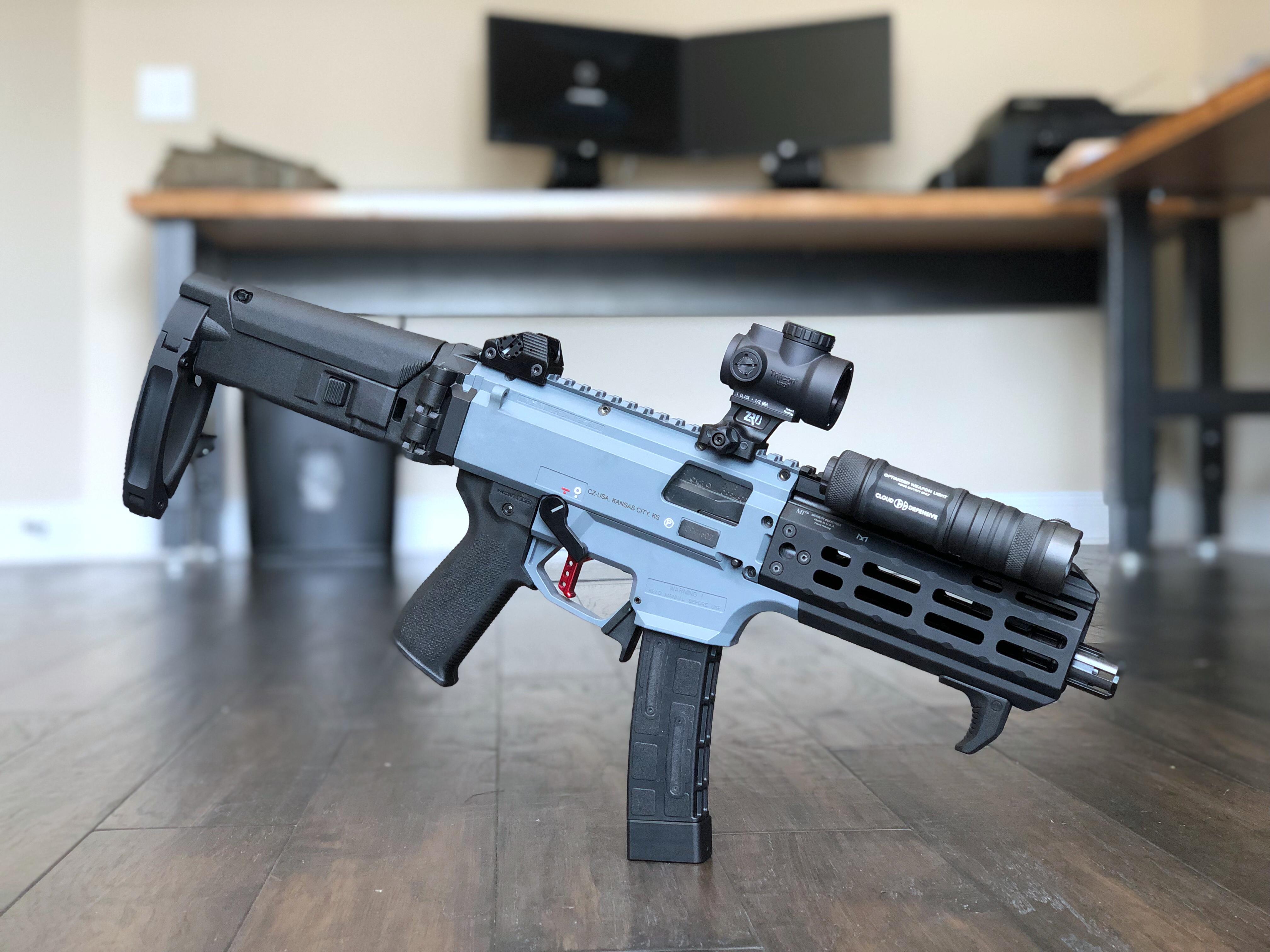 CZ Scorpion EVO3 S1 Pistol Custom | Amendment 2 Custom