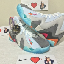 DS REEBOK KAMIKAZE II MID REMEMBER THE ALAMO RTA SIZE 10.5 STYLE CODE V63452