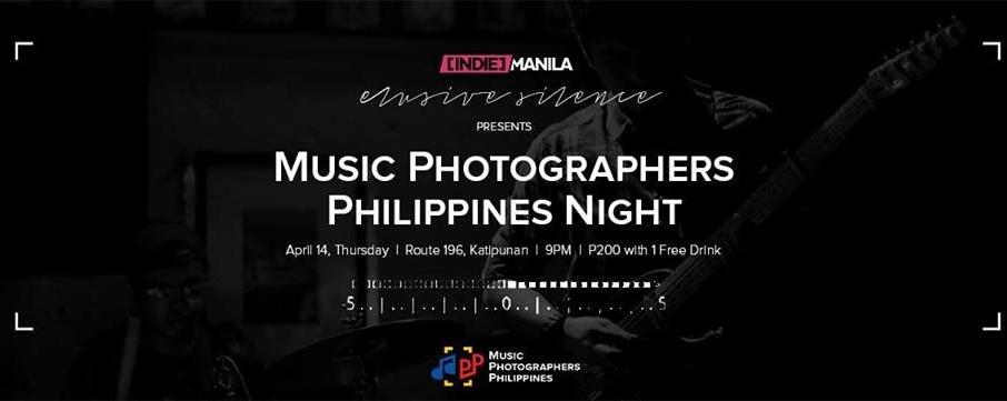 Elusive Silence: Music Photographers Philippines Night