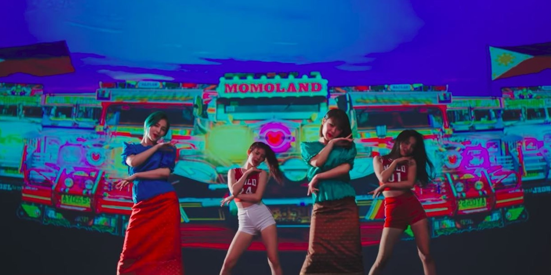 Momoland take on the world with 'Baam' video – watch