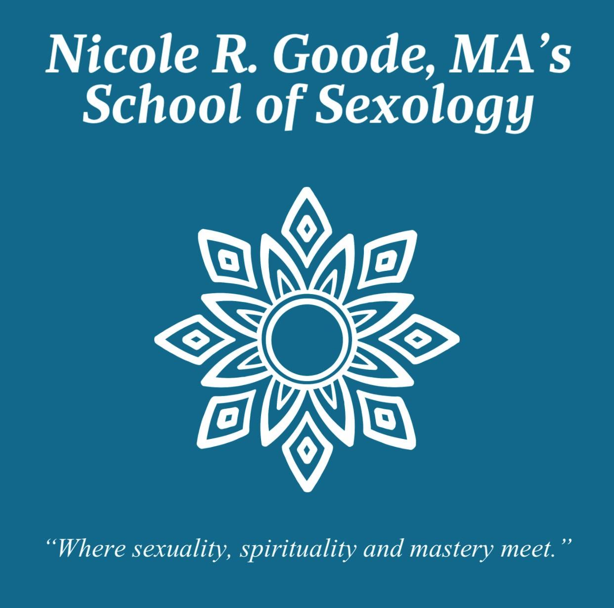 Nicole R. Goode, M.A.'s School of Sexology