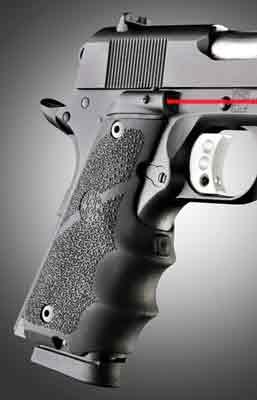 Hogue Laser Enhanced Grip 1911 Government Model 45080   Target