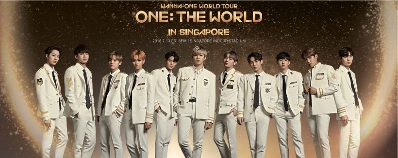 WANNA ONE WORLD TOUR <ONE : THE WORLD> IN SINGAPORE