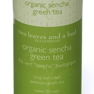 Organic Sencha Green Tea from two leaves and a bud