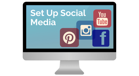 Start social media for blog with Launch Your Blog Course
