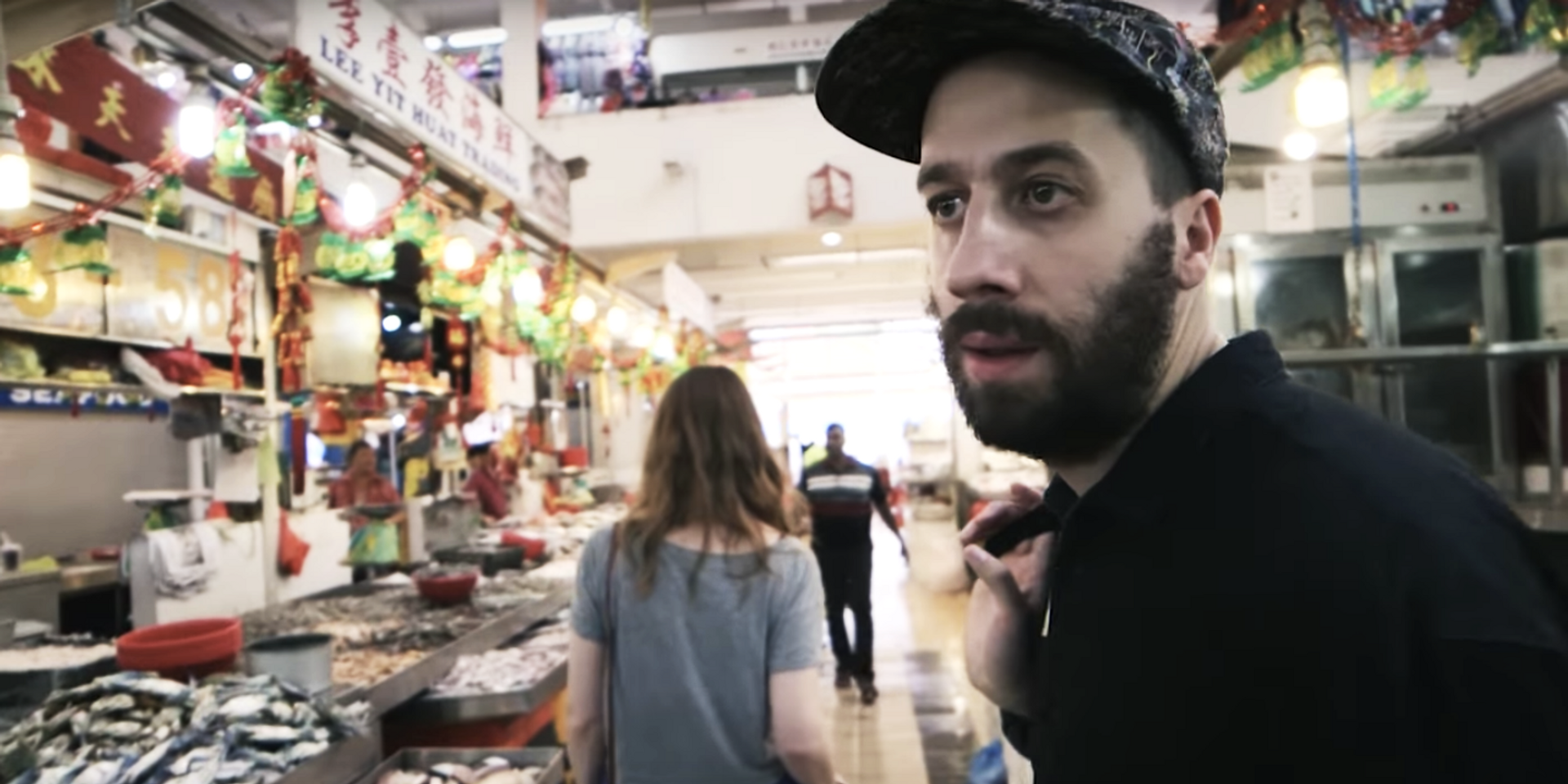 WATCH: Gold Panda geeks out over biryani in Little India