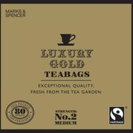 Fairtrade Luxury Gold teabags from Marks & Spencer Tea