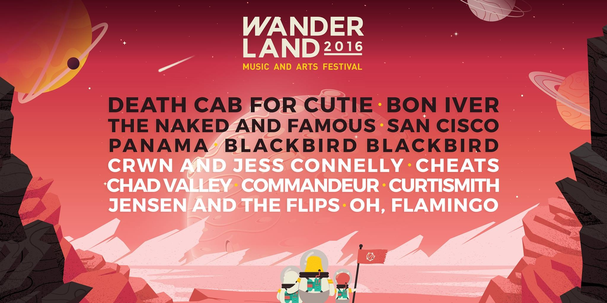 Wanderland 2016 reveals their stacked full line-up