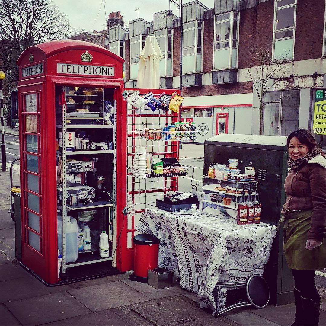 TELEPHONE BOX CAFE