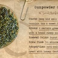 Organic Gun Powder Green Tea from Mountain Rose Herbs