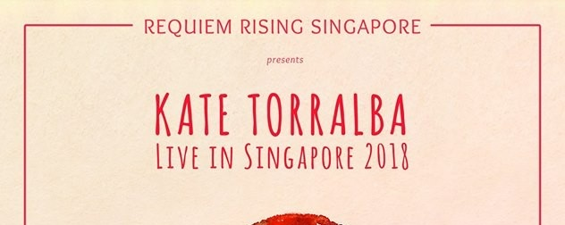 Kate Torralba Live in SG 2018