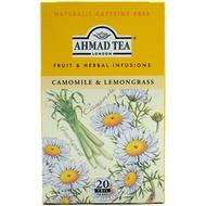 Camomile & Lemongrass from Ahmad Tea