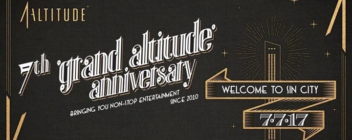 1-Altitude presents 7th Grand Altitude Anniversary - 7 JULY 2017