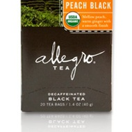 Decaf Ginger Peach from Allegro Tea