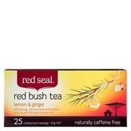 Red bush tea lemon & ginger from Red Seal
