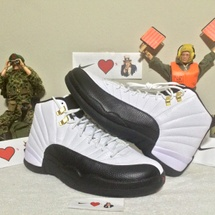 "DS NIKE AIR JORDAN 12 RETRO ""TAXI"" SIZE 10.5 STYLE CODE 130690 125"