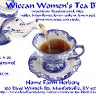 Wicca Women's Tea Blend from Home Farm Herbery