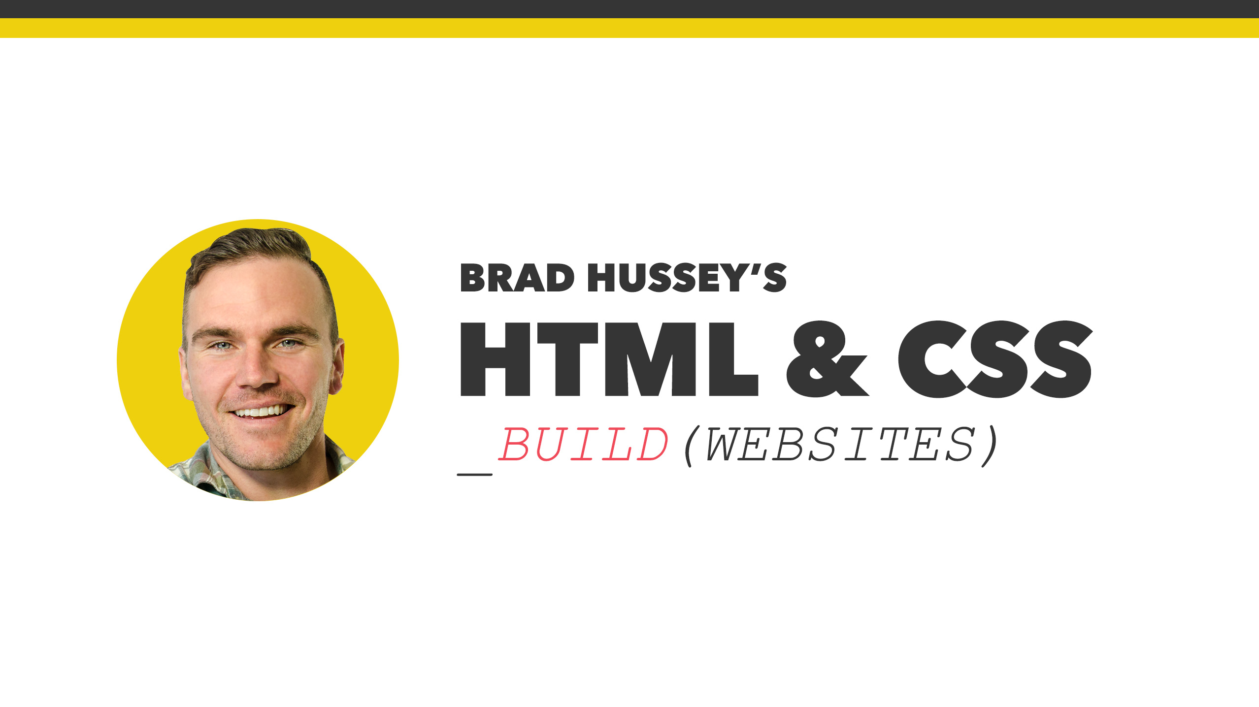Build a Website from Scratch with HTML & CSS | Code College