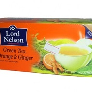 Green Tea Orange & Ginger from Lord Nelson