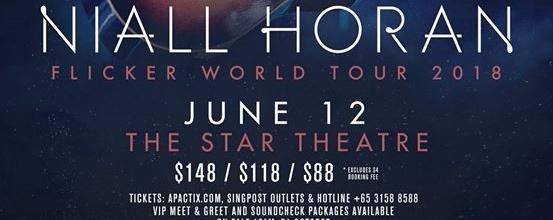 Niall horan flicker world tour in singapore gig bandwagon live niall horan flicker world tour in singapore m4hsunfo