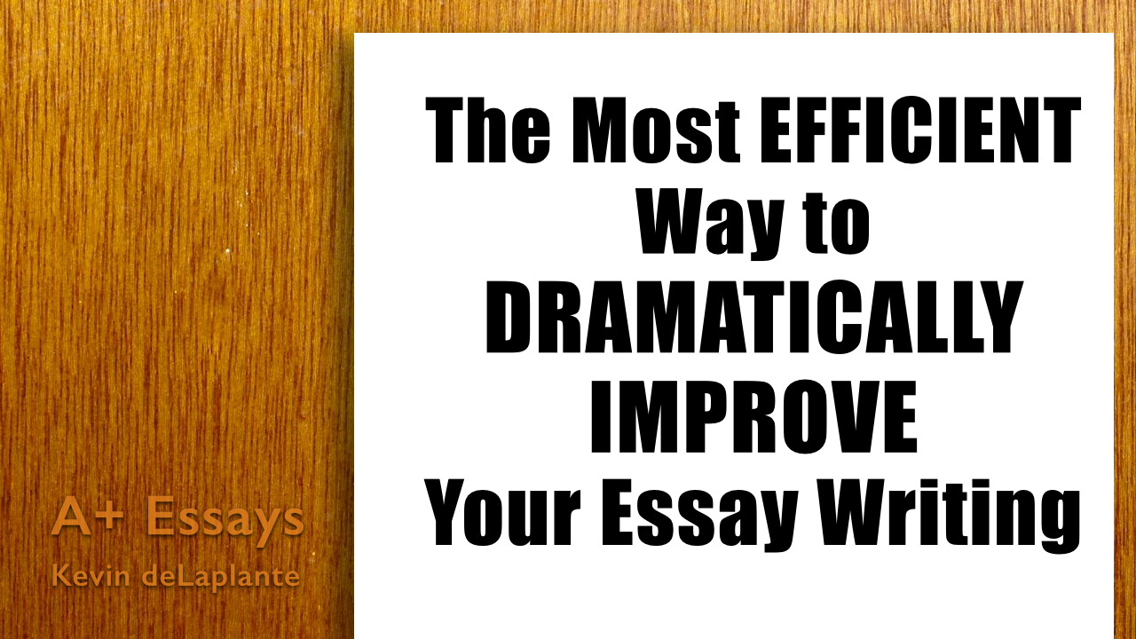 Best English Essay Topics A Video Thumbnail High School Dropout Essay also English Narrative Essay Topics The Most Efficient Way To Dramatically Improve Your Essay Writing  Th Essays On Business Ethics