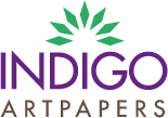Indigo Art Papers