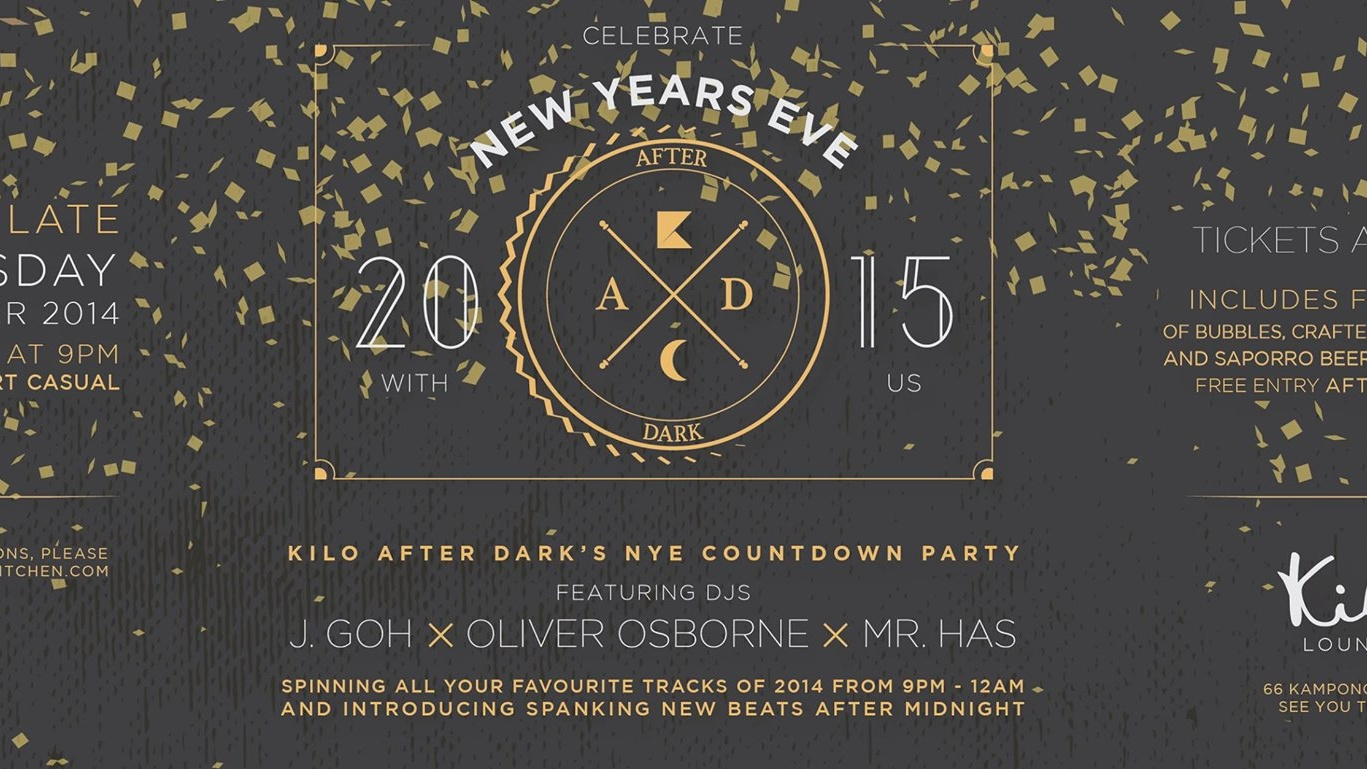 Kilo After Dark's New Years Countdown Party