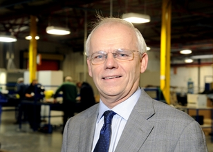 John Faulkner, Managing Director of Cab Automotive Limited and newly elected president of the Made in the Midlands manufacturing network